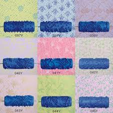 5 embossed paint roller sleeve wall