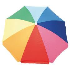 Image Heavy Duty 6 Beach Umbrella Target Ft Beach Umbrella Rainbow Target
