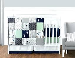 grey elephant nursery bedding uk light gray crib blue and sweet designs piece navy mint woodsy