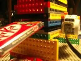 Lego Vending Machine Kit Inspiration LEGO KitKat Vending Machine Mechanism YouTube