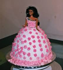 Barbie Shaped Girls Party Cake Miracle Baby Blog
