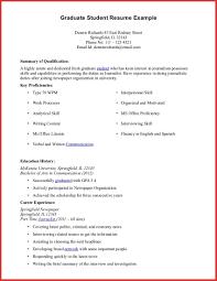 Sample Resume For Ojt Architecture Student Graduate Student Resume Templates sarahepps 38