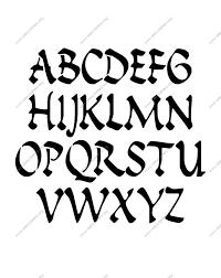 uppercase stencil letter alphabet letter stencils uppercase & lowercase 1 4 12 inch size on 12 inch stencil letters printable