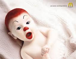 print ad leo burnett. McDonald\u0026#039;s Print Ad - Baby Ronald Leo Burnett N