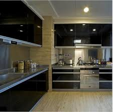 modern kitchen cupboard diy black wallpaper roll self adhensive vinyl wallpaper furniture stickers decorative contact