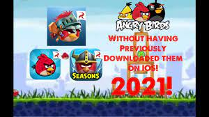 How to download the old angry birds games on IOS without having previously  installed them in 2021 - YouTube