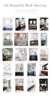23 Beautiful Bathroom VanitiesBECKI OWENS