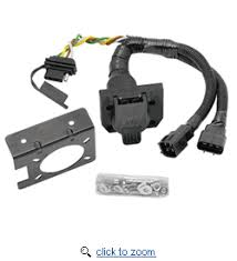 multi plug t one connector assembly, 7 way flat pin connector 4  Tow Ready Fifth Wheel And Gooseneck Wiring Harness With 7 Pole multi plug t one connector assembly, 7 way flat pin connector 4 flat combo adapter harness for 7 way u s car replacement socket for 7 way oem lexus