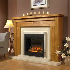 genoa solid oak designer electric suite suitable for flat wall stove fireplace suites call edmonton flameless