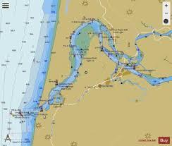 Umpqua River Pacific Ocean To Reedsport Marine Chart