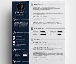 Creative Free Resume Templates Custom Free Resume Templates Creative Free Creative Resume Template Psd Id