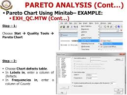 3 Project Charter Check Sheet Pareto Analysis C E