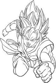 Goku Gt Da Colorare 80 Disegni Di Dragon Ball Z Da Stampare E