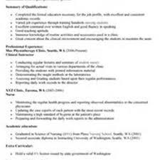 Nurse Educator Resume Sample Nursing Clinical Instructor Resume Sales Instructor Nurse Educator 34