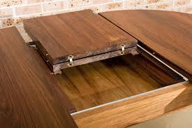 lawson solid tasmanian blackwood extendable dining table