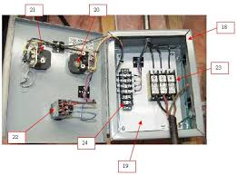 building a three phase converter below is a table indicating all the elements needed to duplicate my main starting panel i purchased all the grainger parts and extracted the allen bradley