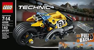 amazon com lego technic stunt bike 42058 advanced vehicle set