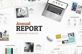 powerpoint brochure template free annual report powerpoint a4 print creative annualreportdesigns