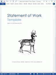From a contractual perspective, the statement of work (sow) is a critical project management document because it sets forth the contractual obligations. Sdlc Statement Of Work Template Software Development Templates Forms Checklists