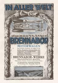 Brennabor A1 496 Braunbeck Motorwagen Motor Brandenburg
