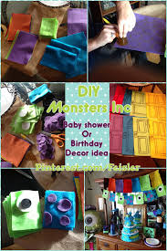 Monster Inc Baby Shower Decorations Do It Yourself Diy Monsters Inc Birthday Or Baby Shower