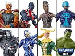 Avengers: Endgame <b>Marvel</b> Legends Wave 2 Set of 7 Figures (<b>Hulk</b> ...