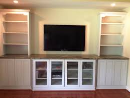 Kitchen Bookcase White Bookcase With Glass Doors Wooden Furniture Awesome Design