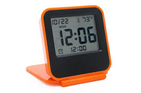 an alarm clock thermometer date and digital time display you can snooze as much as you like with this one and the back light makes it easy to check
