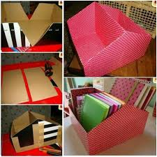 how to turn shoe box into organizer diy file organier from shoe box