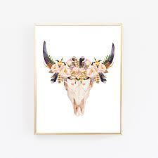 Skull Bedroom Accessories Skull Decor Etsy