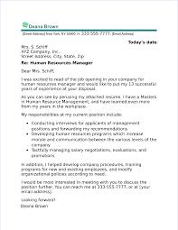 finance cover letter exles
