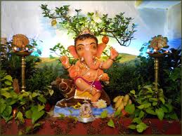 top ganpati decorations ideas images home design luxury with