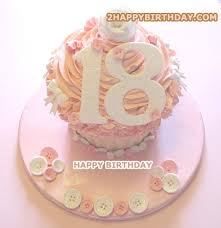 Happy 18th Birthday Cake For Girls With Name 2happybirthday