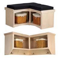 Corner Coat Rack With Bench Arthur W Brown Furniture Company 25