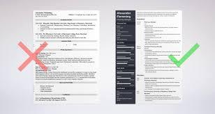 Pharmacist Resume Sample Complete Guide 20 Examples Hospital