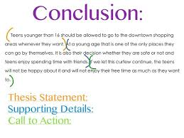 Conclusion For An Assignment Essay Tips Argumentative