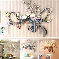 stickers for mirrors india wall acrylic large mirror decorative rocks removable fl car