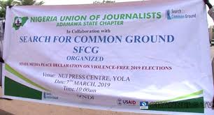 Image result for adamawa journalists peace walk