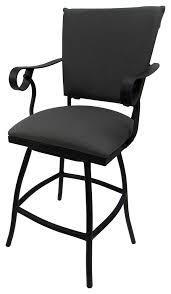 outdoor patio swivel counter stool