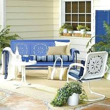 Retro Patio Chair Cushions Retro Outdoor Glider Chair Mid Century