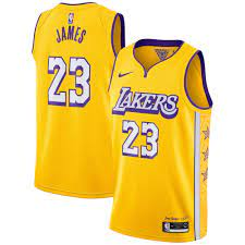 Los Angeles Lakers Nike City Edition ...
