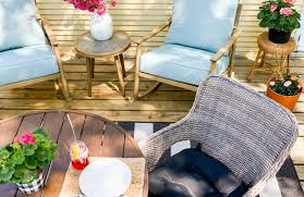 patio makeover with better homes