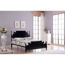 designer double 4 9 solid wooden white metal bed frame loading zoom