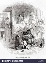 the death of dora illustration from the charles dicken s novel  the death of dora illustration from the charles dicken s novel david copperfield charles john huffam dickens 1812 1870 english writer and social