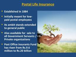 Pli (postal life insurance) is exactly like any life insurance company, for example, lic or icici pru life insurance. Pli Presntation
