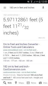 Ft To Inches Chart Cm To Inch Conversion Chart For Height Cms To Feet Chart