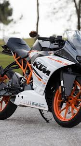 wallpaper: KTM 390 motorcycle 1080x1920