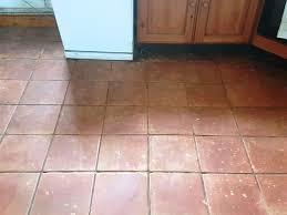 terracotta tiles before cleaning buckingham farm cottage