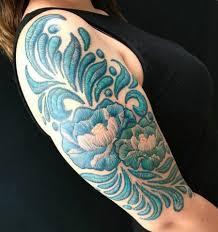 очень реалистично это вышивка нет это татуировка