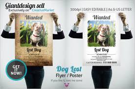 Dog Flyer Template Free Dog Flyer Template Free Under Fontanacountryinn Com